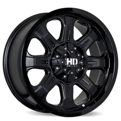 Fastwheels C4 Black wheel (17X8, 5x114.3/127, 78.1, 20 offset)