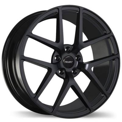 Fastwheels Vengeance Satin Black wheel (19X9.5, 5x114.3, 72.6, 25 offset)