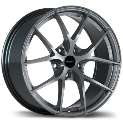 Fastwheels Innovation Titanium/Titane, 17X7.5, 5x114.3, (offset/déport 35 ) 66.1 Nissan