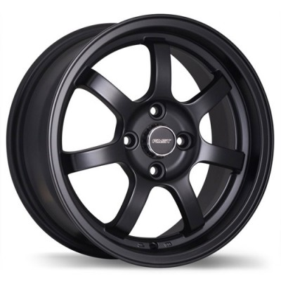 Fast Wheels A026 Satin Black wheel | 15X6.5, 4x100, 67.1, 42 offset