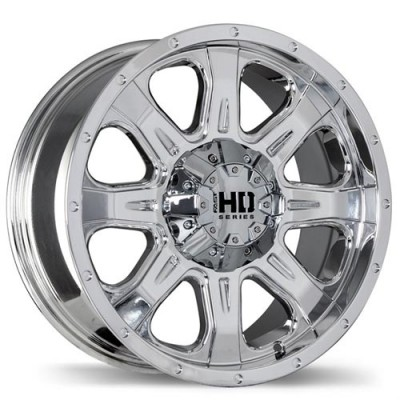 Fast Wheels C4 Chrome wheel (20X9, 6x114.3, 78.1, 25 offset)