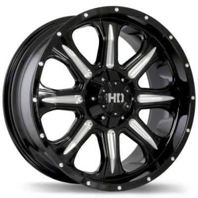 Fast Wheels C4 Gloss Black Diamond Cut wheel | 18X9.0, 6x139.7, 77.8, 20 offset