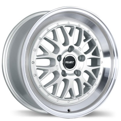 Fast Wheels Cartel Machine Silver wheel (18X8, 5x112, 66.5, 45 offset)