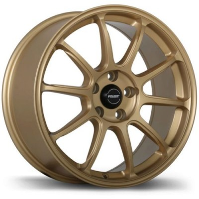 Fast Wheels Dime Matte Gold wheel (18X8.0, 5x112, 72.6, 35 offset)
