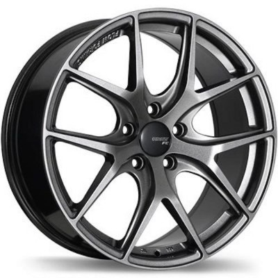 Fast Wheels FC04 Titanium wheel (17X8.0, 5x110, 65.1, 35 offset)