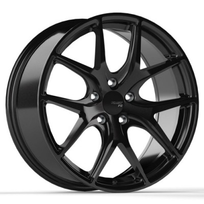 Fast Wheels FC04 Black wheel (18X10, 5x120, 72.6, 45 offset)