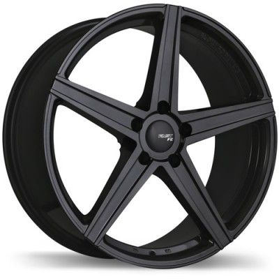 Fast Wheels FC05 Black wheel | 20X8.5, 5x108, 63.4, 40 offset