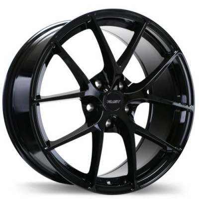 Fast Wheels Innovation Gloss Black wheel (16X6.5, 5x114.3, 66.1, 45 offset)