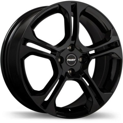 Fast Wheels KiX Gloss Black wheel (17X7.0, 4x100, 60.1, 42 offset)