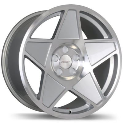 Fast Wheels Nineteen 80 Machine Silver wheel (18X9, 5x114.3, 73, 40 offset)