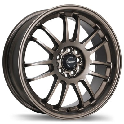 Fast Wheels Shibuya Bronze wheel (16X7, 4x100/114.3, 72.6, 42 offset)