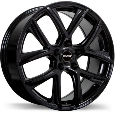 Fast Wheels Tactic Gloss Black wheel (16X6.5, 5x114.3, 66.1, 35 offset)