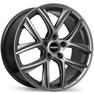 Fast Wheels Tactic Titanium wheel (16X6.5, 5x114.3, 66.1, 45 offset)