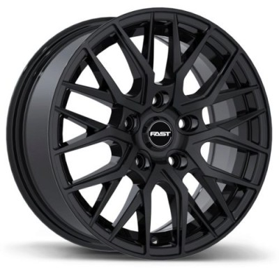 Fast Wheels Tronic Gloss Black wheel (15X6.5, 5x114.3, 72.6, 40 offset)