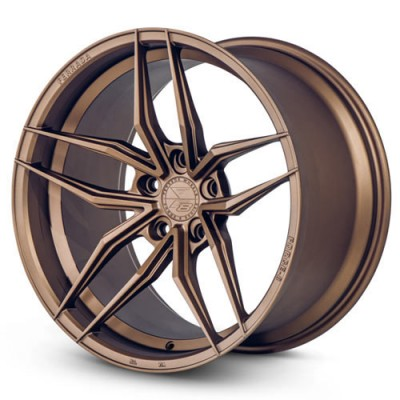 Ferrada Wheels Forge-8-FR5 Matte Bronze wheel (20X9, 5x120, , 45 offset)