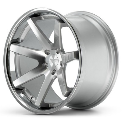 Ferrada Wheels FR1 Machine Silver wheel (20X9, 5x108, 73.1, 35 offset)