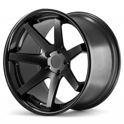 Ferrada Wheels FR1 Matte Black wheel (20X9, 5x108, 73.1, 35 offset)