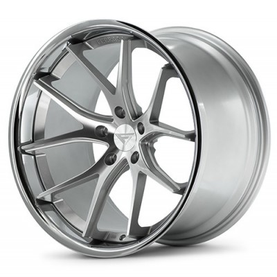 Ferrada Wheels FR2 Machine Silver wheel (19X8.5, 5x112, , 25 offset)