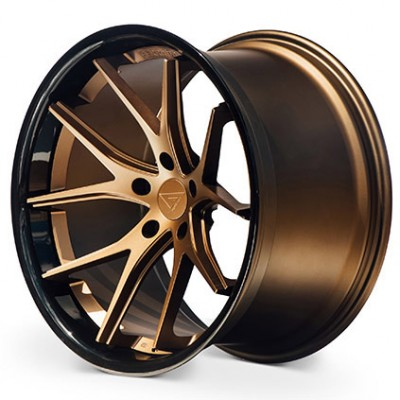 Ferrada Wheels FR2 Matte Bronze wheel (19X8.5, 5x114, , 35 offset)