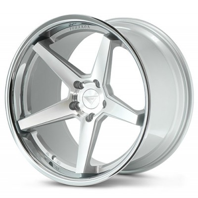 Ferrada Wheels FR3 Machine Silver wheel (19X10.5, 5x112, 66.56, 25 offset)