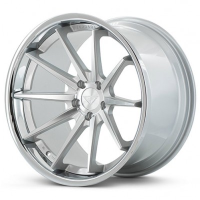 Ferrada Wheels FR4 Machine Silver wheel (20X10.5, 5x108, 73.1, 38 offset)