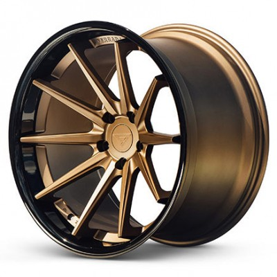 Ferrada Wheels FR4 Matte Bronze wheel (20X10.5, 5x108, 73.1, 38 offset)
