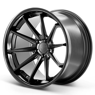 Ferrada Wheels FR4 Matte Black wheel (20X10.5, 5x108, 73.1, 38 offset)