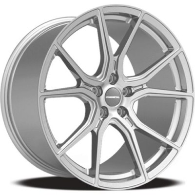 Fondmetal STC45 Silver wheel (20X9, 5x114.3, 70.4, 38 offset)