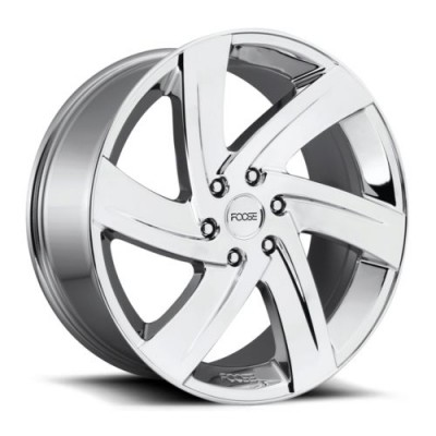 FOOSE Bodine F166 Chrome wheel (22X9.5, 6x139.7, 78.1, 25 offset)