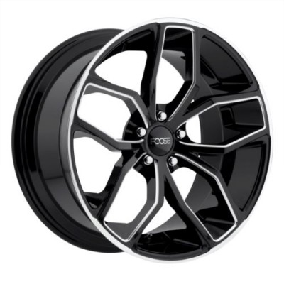 FOOSE F150 OUTCAST Gloss Black wheel (18X8, 5x120.00, 72.56, 40 offset)