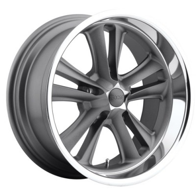 FOOSE Knuckle F099 Matte Gun Metal wheel (17X8, 5x114.3, 72.6, 1 offset)