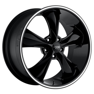 FOOSE Legend SS F104 Machine Black wheel (20X10, 5x120, 67, 40 offset)