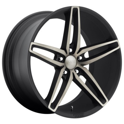 FOOSE Stallion F156 Machine Black wheel (20X10, 5x120, 72.6, 40 offset)