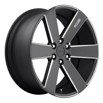 FOOSE Switch F158 Machine Black wheel (20X9.5, 6x139.7, 78.1, 30 offset)