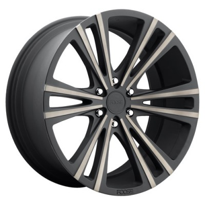 FOOSE Wedge F160 Machine Black wheel (22X9.5, 6x135, 87.1, 30 offset)