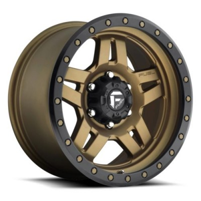 FUEL ANZA 4+3 D583 Bronze wheel (14X7, 4x156, 132, 13 offset)