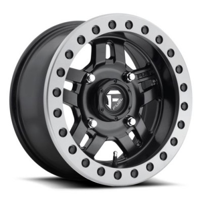 FUEL Anza Bead Lock D917 Matt Black Machine wheel (14X7, 4x136, 110.2, 13 offset)