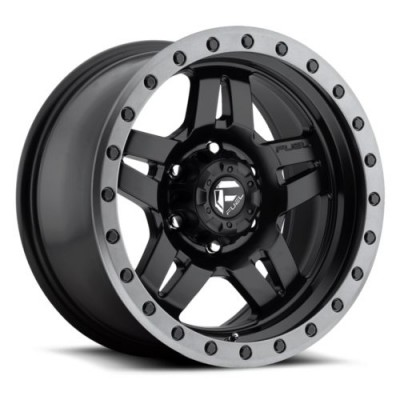 FUEL Anza D557 Matte Black wheel (14X7, 4x156, 115.1, 13 offset)