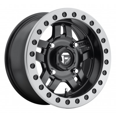 FUEL Anza UTV D917 Matte Black wheel (14X7, 4x110, 79.4, 13 offset)