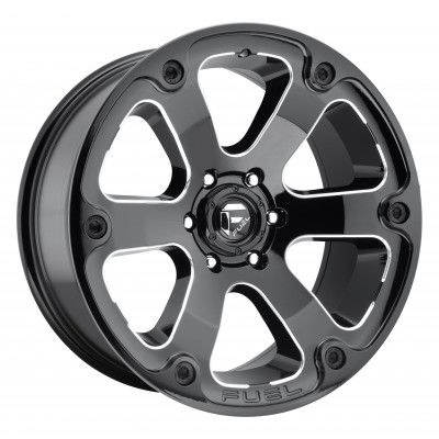 FUEL Beast D562 Machine Black wheel (17X9, 6x139.7, 108, 1 offset)