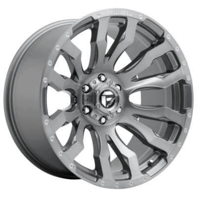 FUEL BLITZ PLATINUM Gun Metal wheel (18.00X9.00, 6x139.70, 106.1, 1 offset)