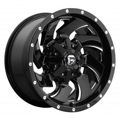 FUEL Cleaver D574 Machine Black wheel (17X9, 8x165.1, 125.2, 1 offset)