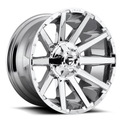 FUEL Contra D614 Chrome wheel (20X9, 6x135/139.7, 106.3, 1 offset)