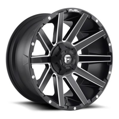 FUEL Contra D616 Machine Black wheel (20X10, 8x170, 125.1, -18 offset)