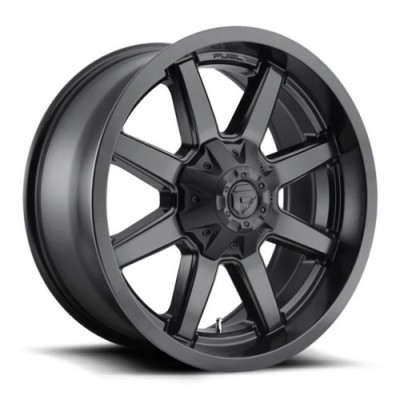 FUEL D436 Matte Black wheel (20X10, 8x180, 124.3, -18 offset)