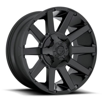 FUEL D437 CONTRA Satin Black wheel (20X9, 6x135/139.7, 106.1, 2 offset)
