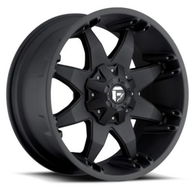 FUEL D509 Matte Black wheel (17X8.5, 5x135, 87.1, 14 offset)