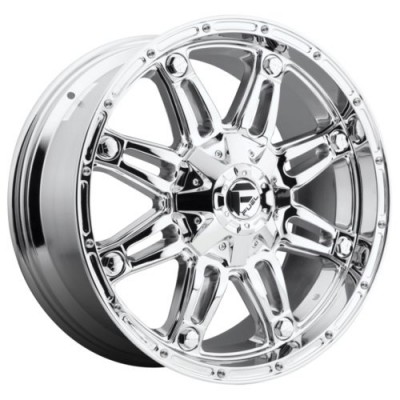 FUEL D530 HOSTAGE Chrome wheel (20X10, 6x135.00/139.70, 106.1, -24 offset)