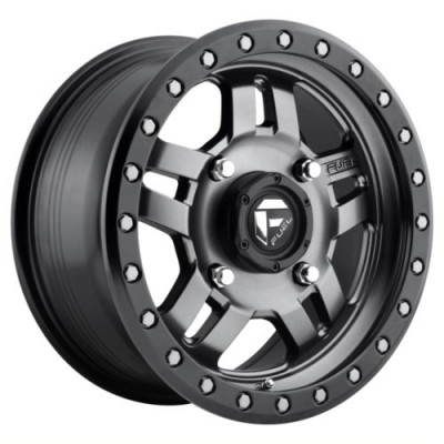 FUEL D558 ANZA Matte Gun Metal wheel (17X8.5, 6x139.70, 108, -6 offset)