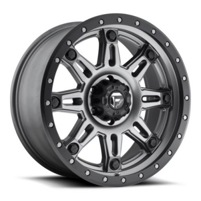 FUEL D568 Matte Gun Metal wheel (18X9, 6x139.7, 108, 20 offset)